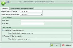 ccl interface beállítás